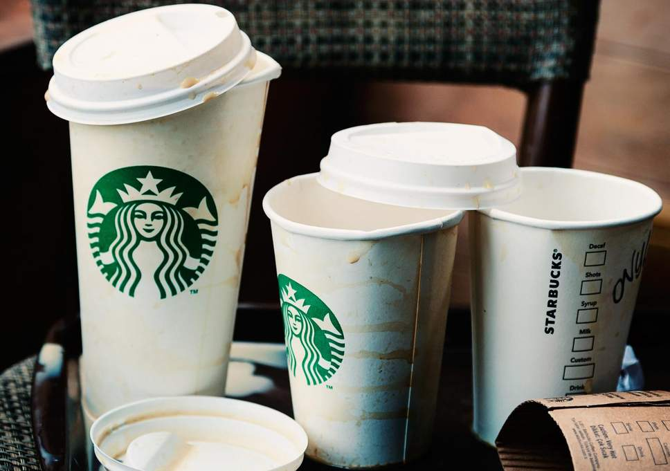 starbucks cups waste