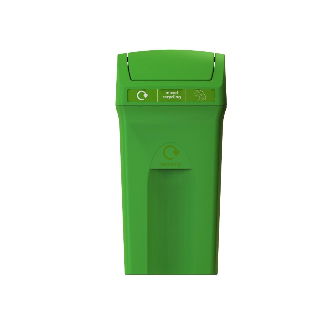 81155-Enviro-100-Flip-top-green