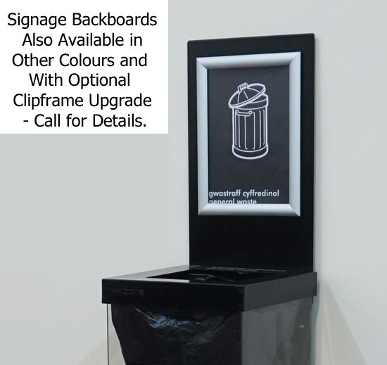 BOX-RCY-Bin-Single-Backboard