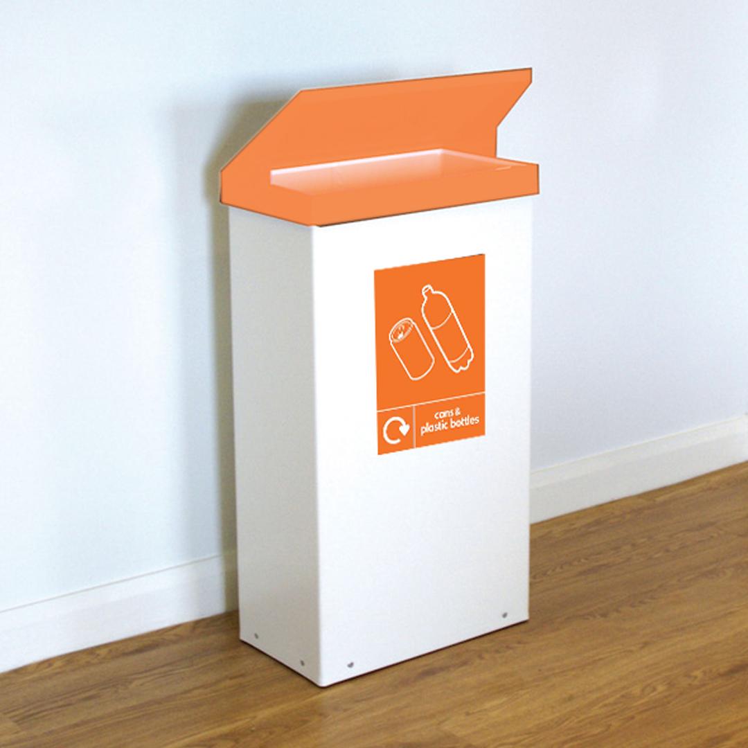 EZ-Cans-Plastic-Bottles-Orange-Bin