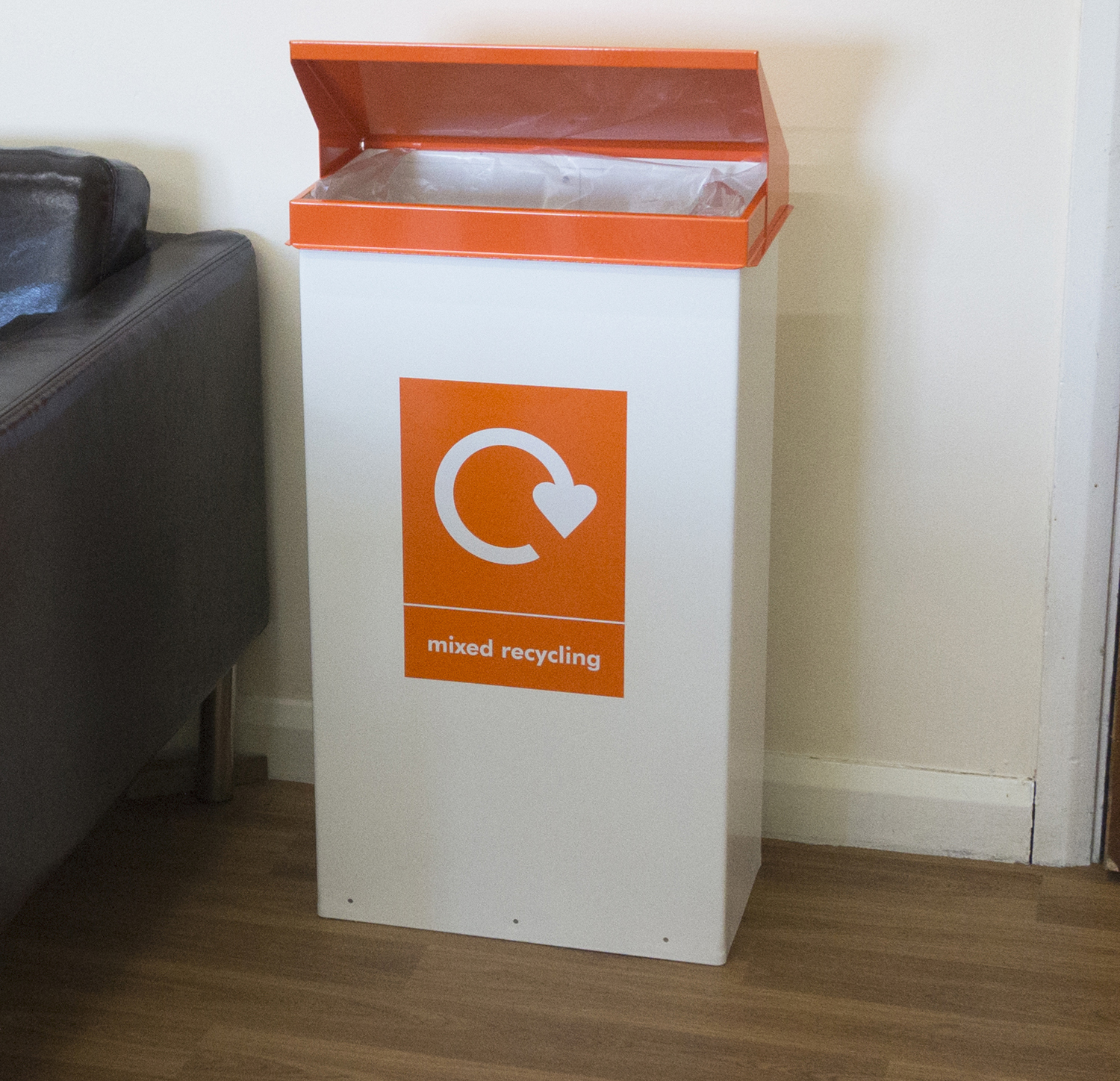 EZ-Mixed Recycling-Orange-Bin