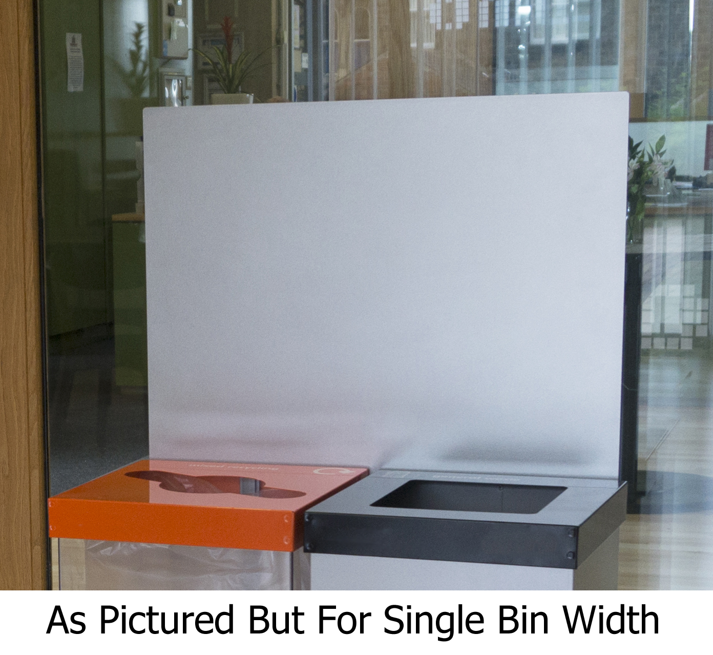 RCY-Bin-Backboard-Single
