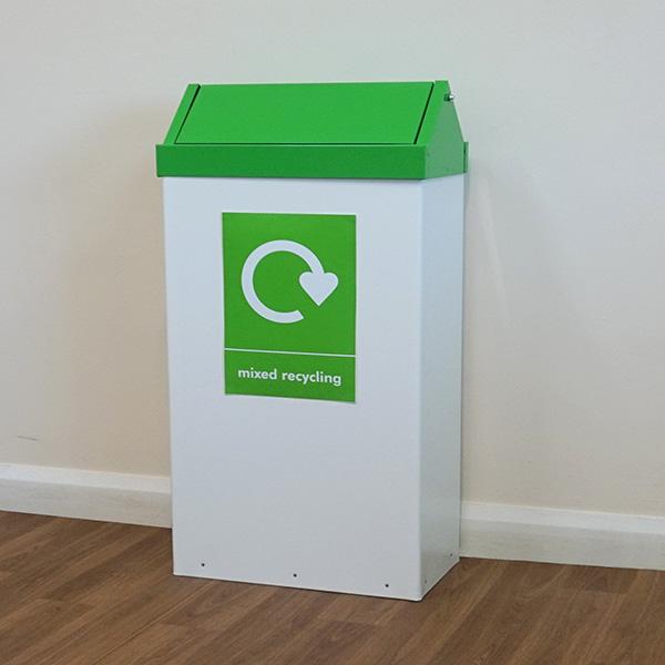 Swing-Top-Recycling-Bin-Green-MR